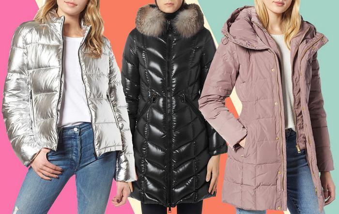 Женские стеганые зимние куртки фото