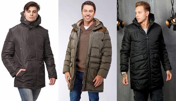 Зимние мужские куртки на синтепоне фото