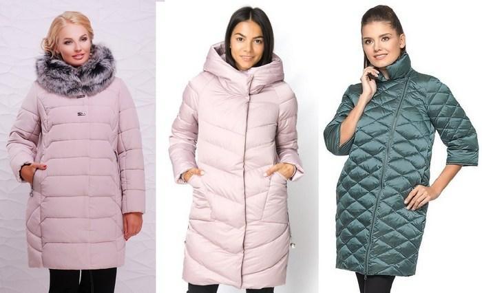 Зимние женские куртки на синтепоне фото