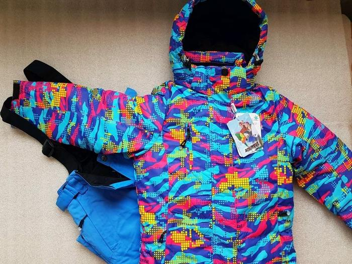 Зимний теплый костюм с утеплителем тинсулейт фото
