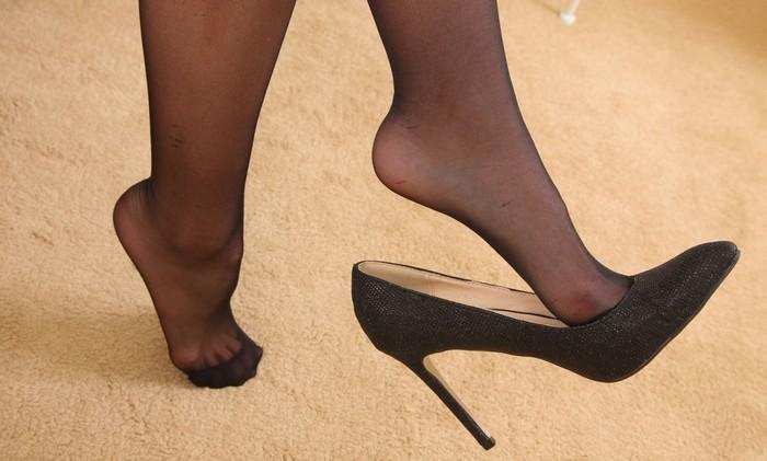 Что делать чтобы не рвались колготки на пальцах в туфлях, фото