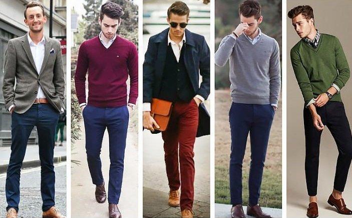 Одежда на новогодний корпоратив для мужчин, фото