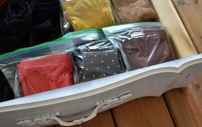 Пакеты для капроновых колготок, фото