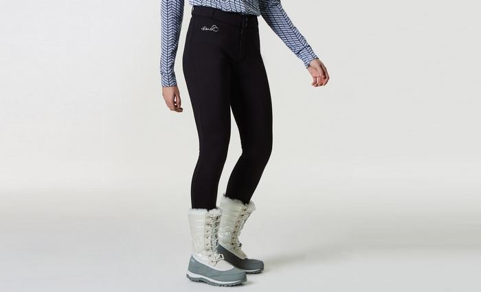 Какие брюки носят зимой, фото