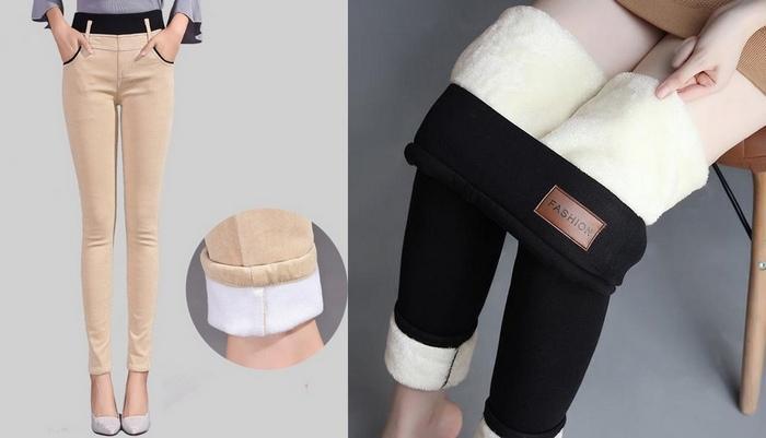 Утепление для женских зимних штанов, фото