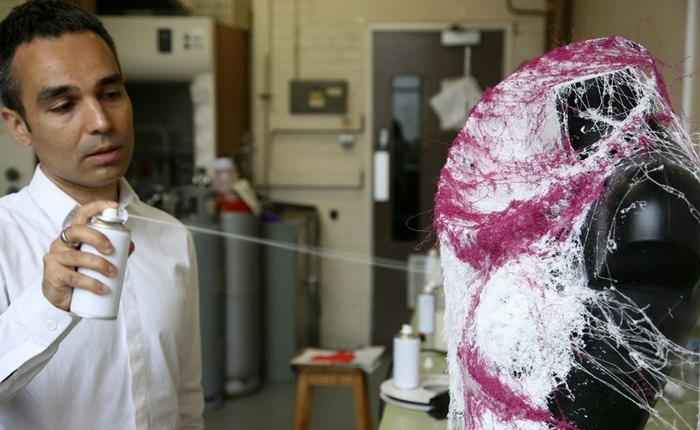 Жидкая одежда из баллончика, фото