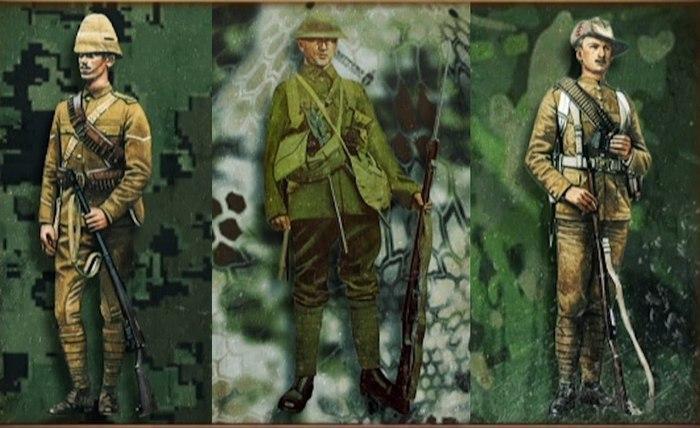 История камуфляжа в военной форме фото