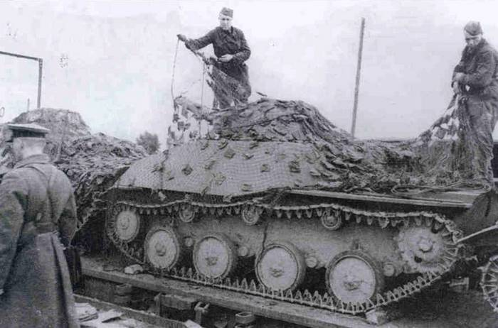 Камуфляж танков РККА фото