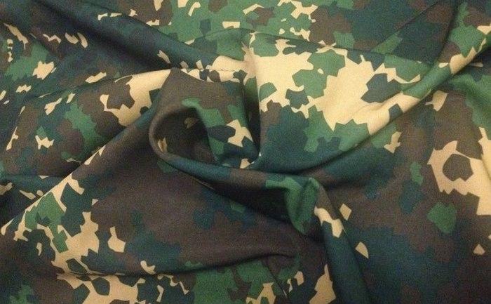 Ткань мембранная Софтшелл камуфляж фото
