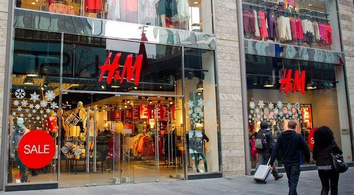 Фирменные магазины одежды hm, фото