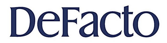 Логотип defacto, фото