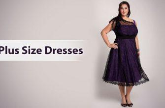 Plus-size размеры платьев, фото