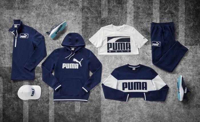 Коллекция одежды для гольфа от Puma