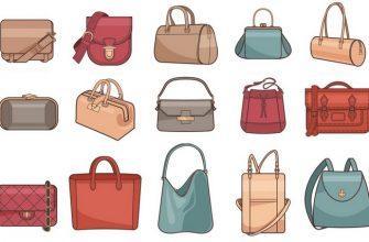 Виды женских сумок, фото