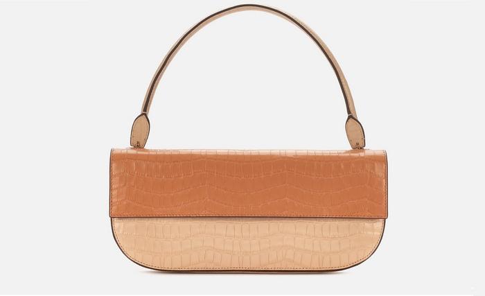 Женская сумка багет, фото