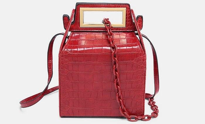 Женская сумка китайская коробочка, фото