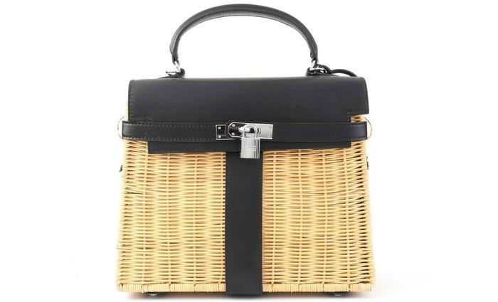Женская сумка корзинка, фото