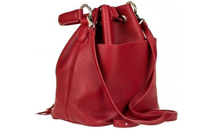 Женская сумка мешок, фото