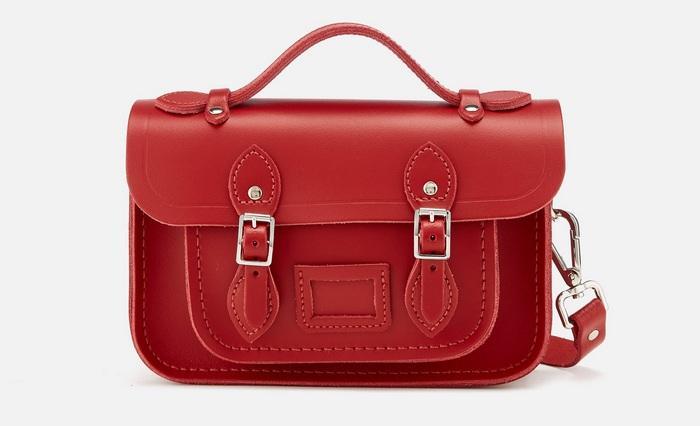 Женская сумка сэтчел, фото