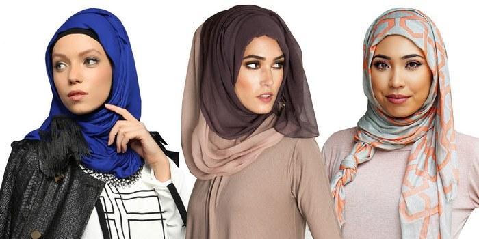 Головной убор, хиджаб для женщин, фото