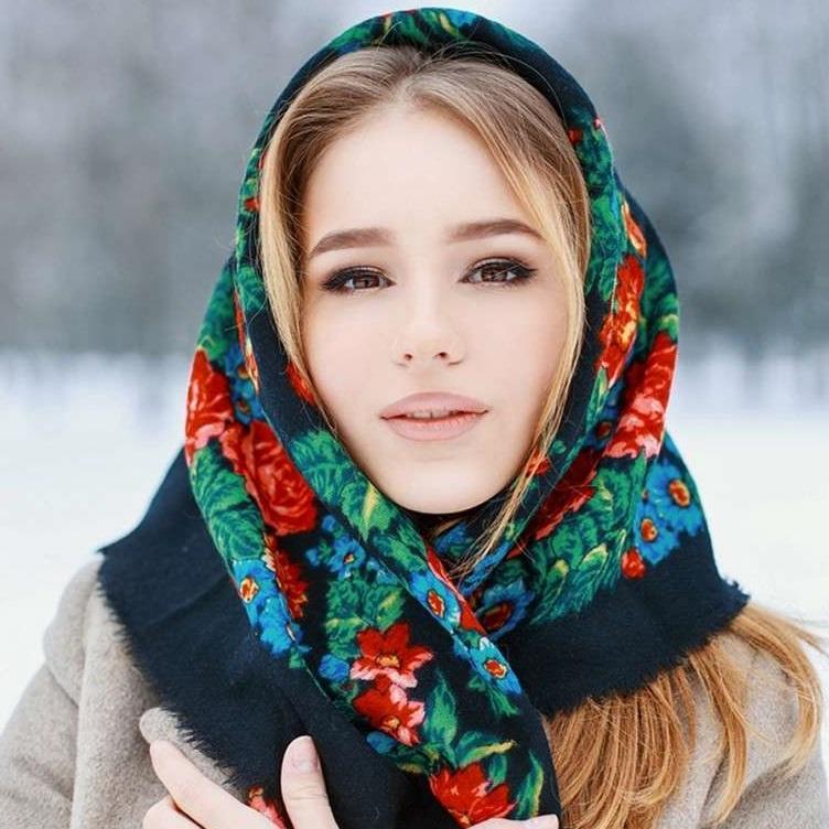 Головной убор, платок на голову для женщин, фото