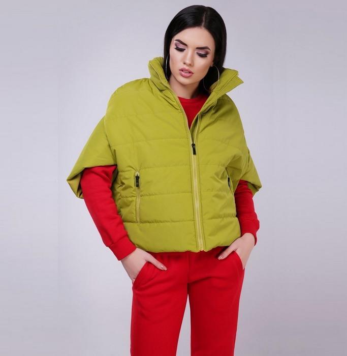 Куртка-кейп для женщин, фото