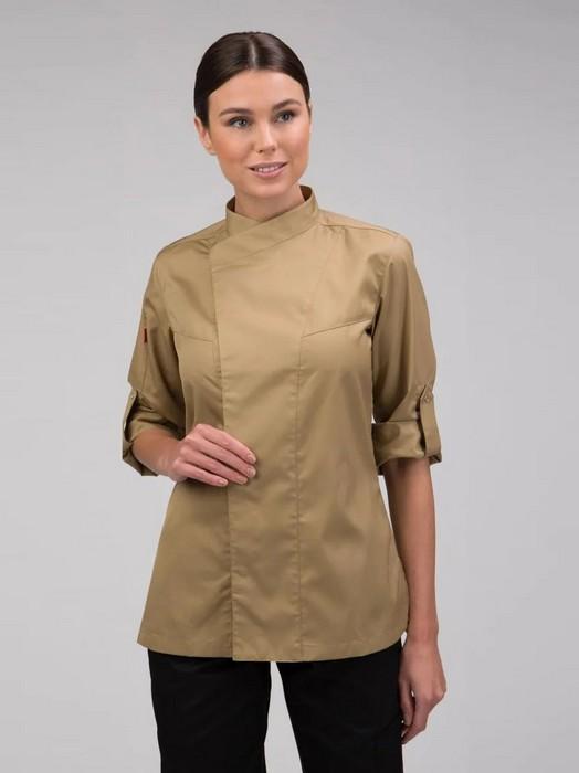 Легкая одежда поварской китель для женщин, фото