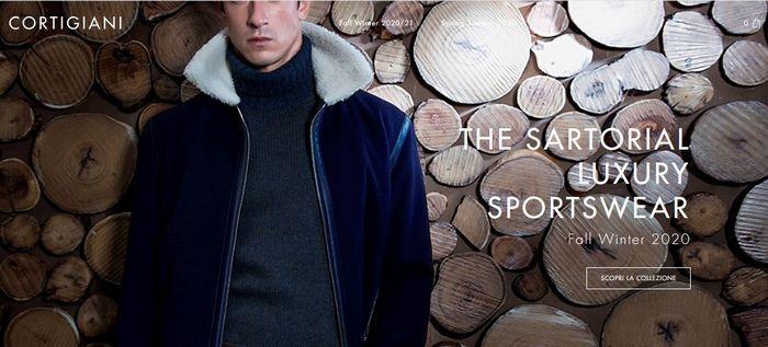 Мужские зимние куртки Cortigiani, фото