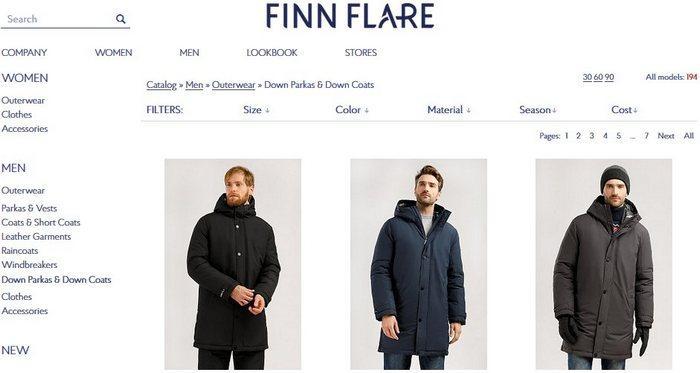 Мужские зимние куртки Finn Flare, фото
