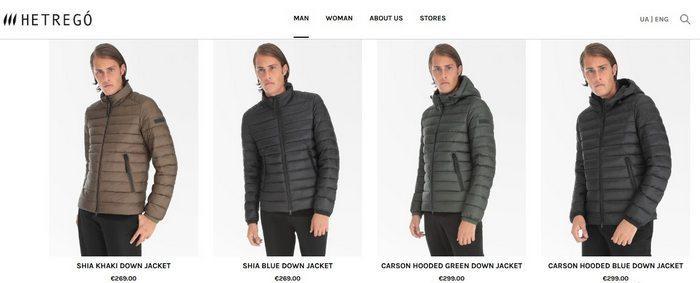 Мужские зимние куртки Hetrego, фото