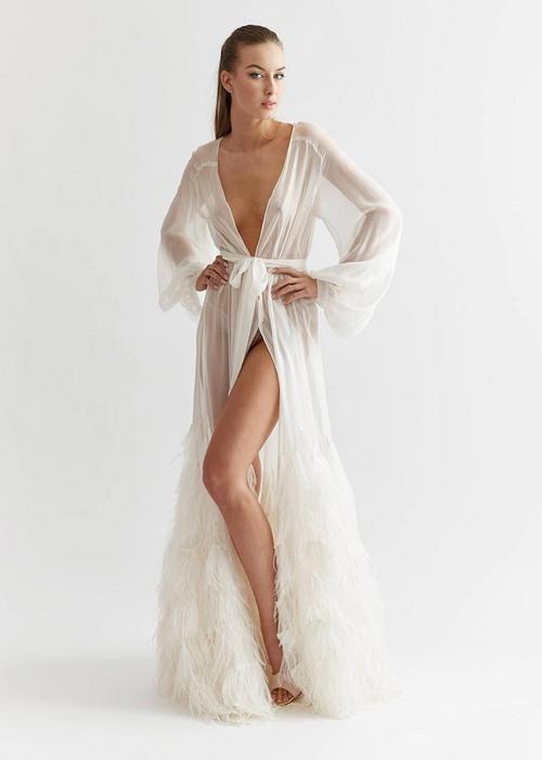 Нижняя одежда пеньюар для женщин, фото