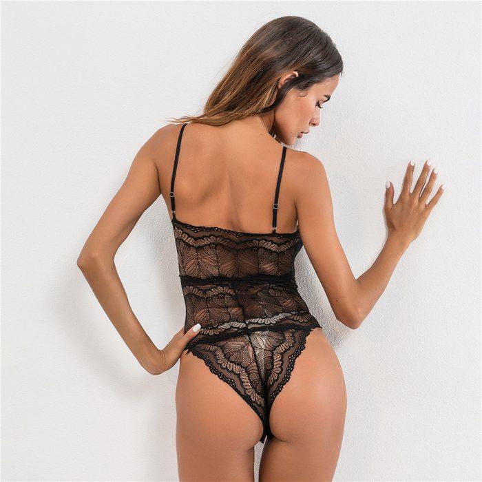 Нижняя одежда тедди для женщин, вид сзади, фото
