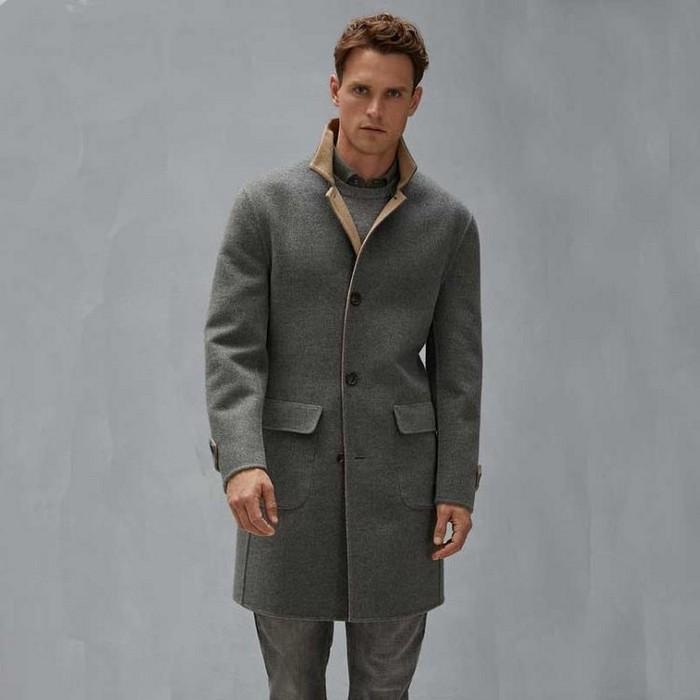 Пальто редингот для мужчин, фото