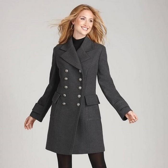 Пальто редингот для женщин, фото