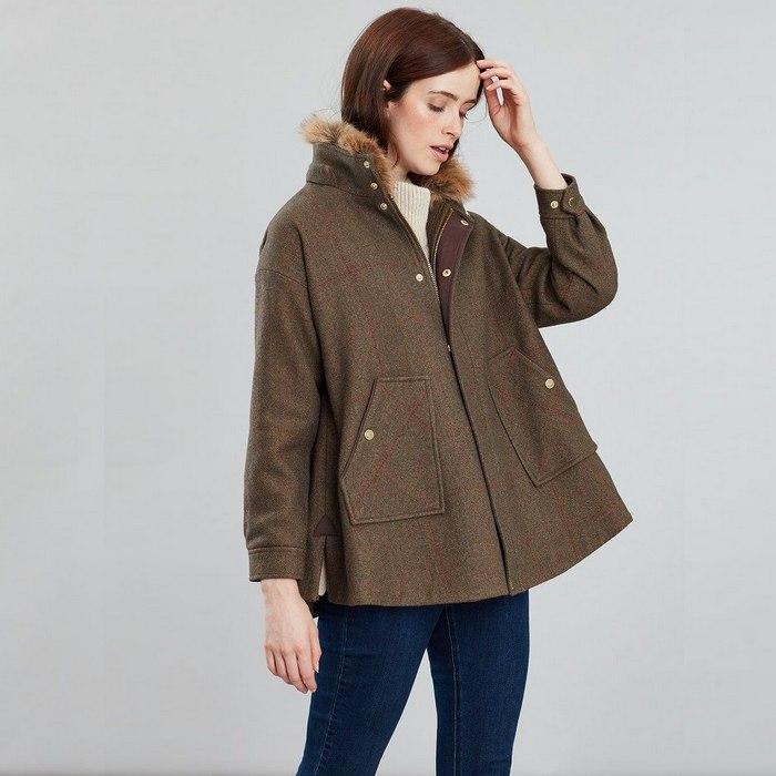 Пальто свингер для женщин, фото