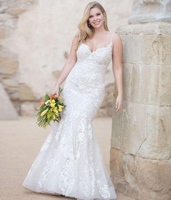Свадебное платье plus size, фото