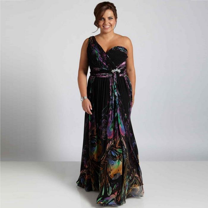 Вечернее платье size plus, фото