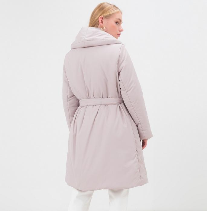 Женская куртка с запахом, фото