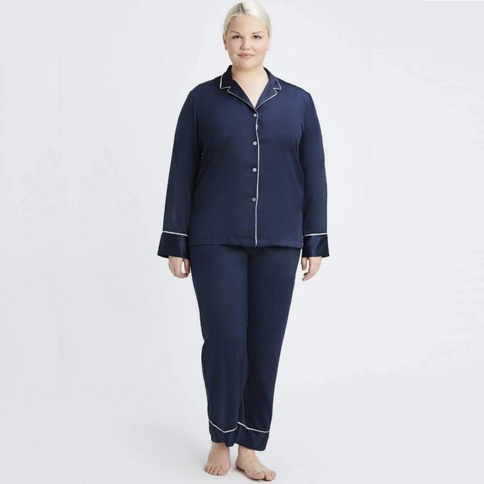 Женская пижама plus size, фото