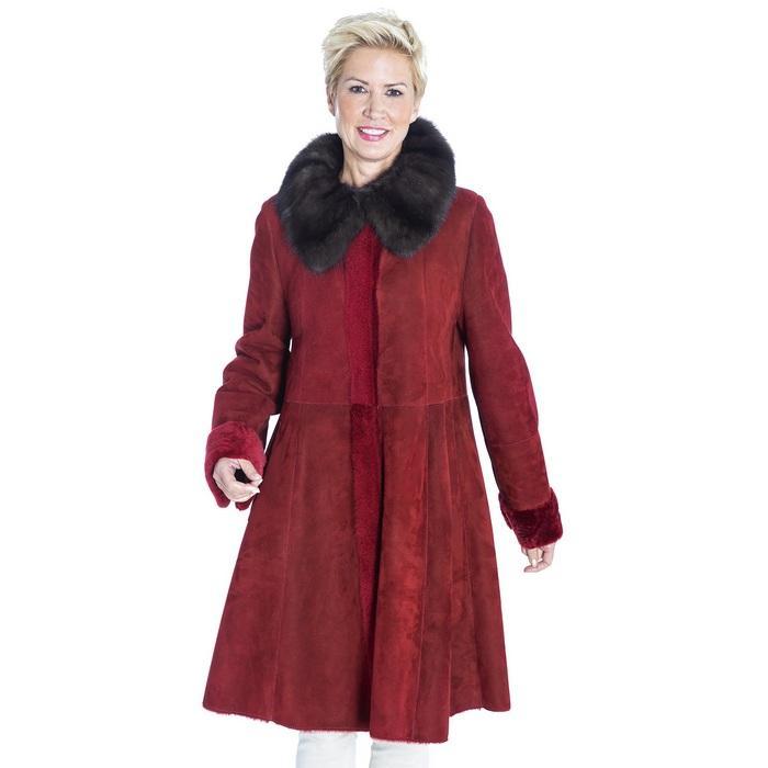 Женское пальто свингер, фото