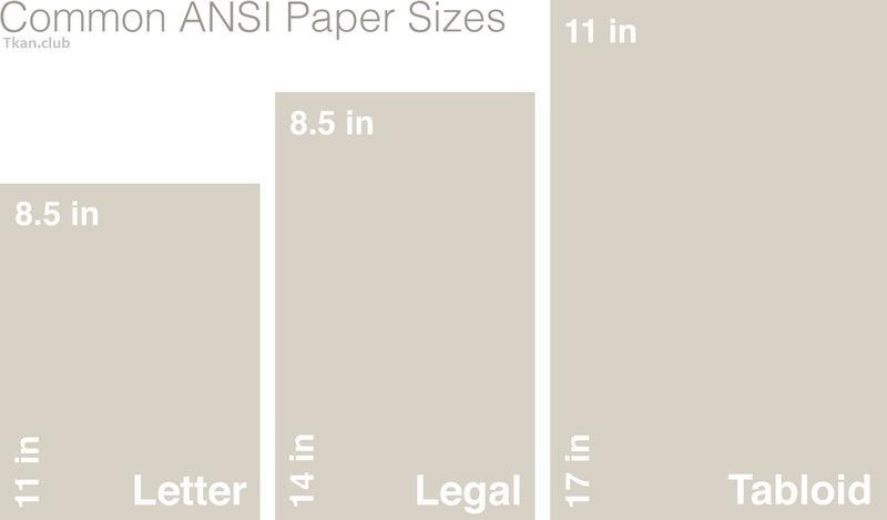 Североамериканский размер бумаги, фото