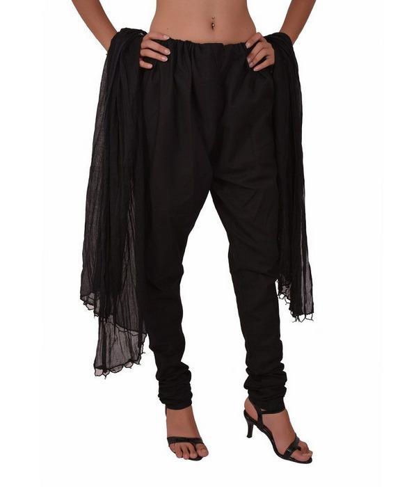 Штаны чуридары черные женские, фото