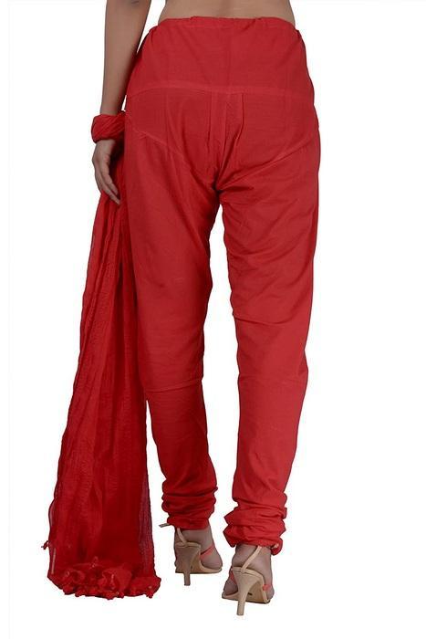 Штаны чуридары красные женские, фото