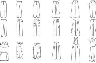 Все виды брюк, фото