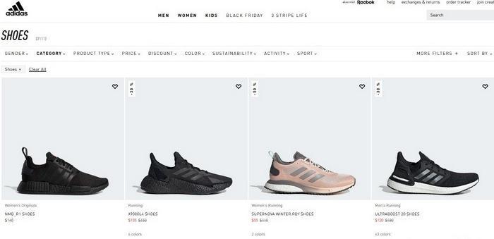 Бренд кроссовок Adidas, фото