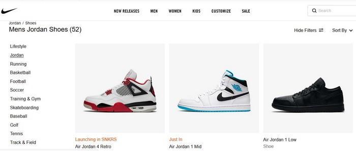 Бренд кроссовок Jordan, фото