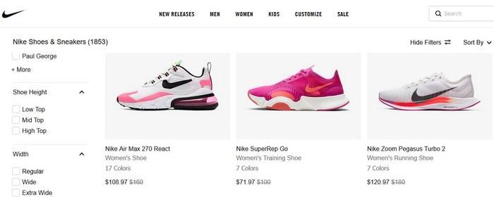 Бренд кроссовок Nike, фото