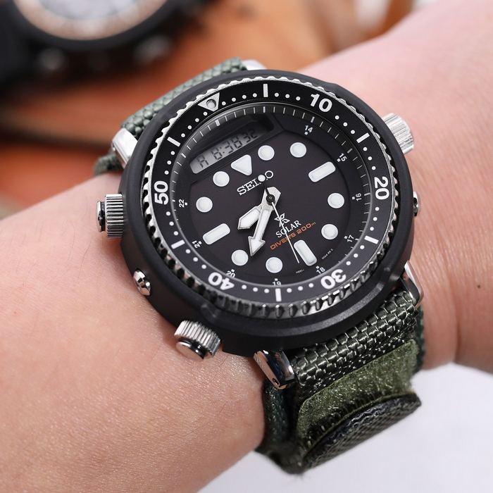 Часы с ремешком Velcro, фото