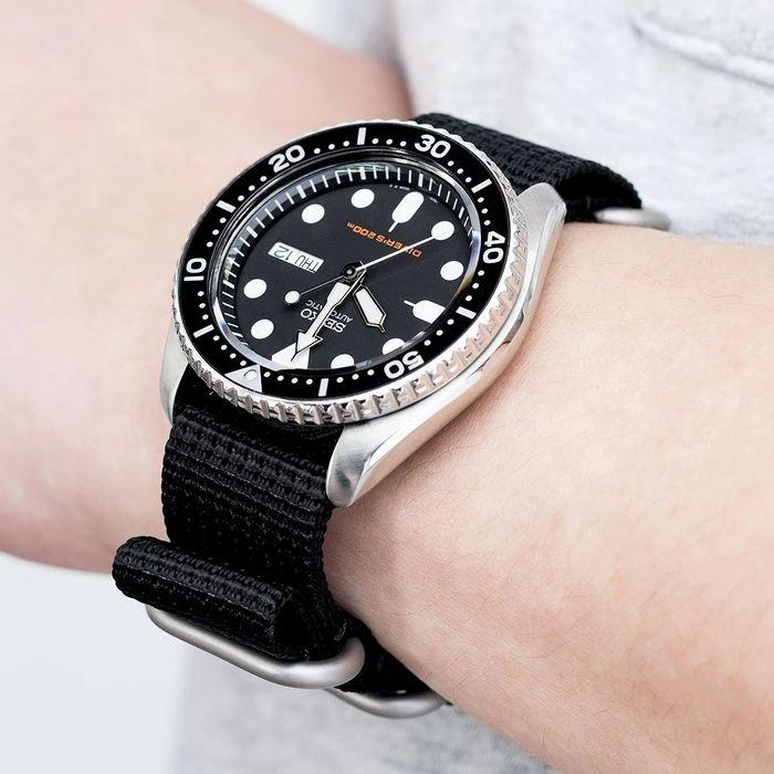 Часы с ремешком ZULU, фото