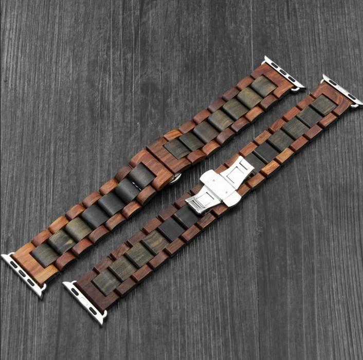 Деревянные ремешки для часов, фото